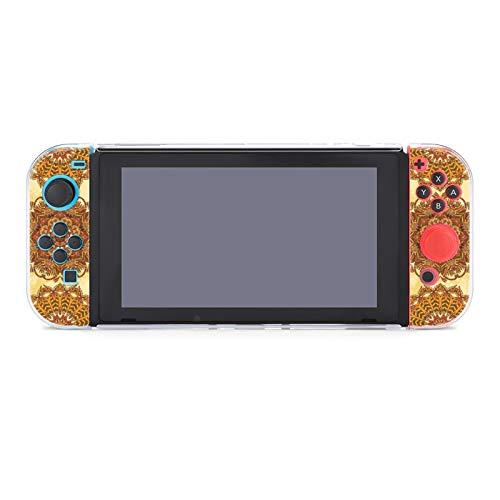 Funda para Nintendo Switch Egipto Ornamento con Jeroglíficos Egipcios Antiguos Juego de 5 Piezas Funda Protectora Funda Compatible con Nintendo Switch Game Console