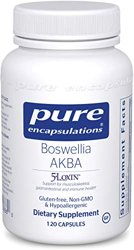 Pure Encapsulations - Boswellia AKBA - Hypoallergenic Support for Immune, Joint, Gastrointestinal and Cell Health - 120 Capsules