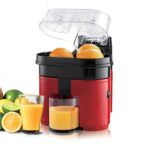 DPFXNN Presse-Agrumes électrique, 500 ML, 90 Watts de poignée Power Soft Grip et Couvercle Rond Lideasy Use, pour Orange Lemonjuice Press-Citrus Juice