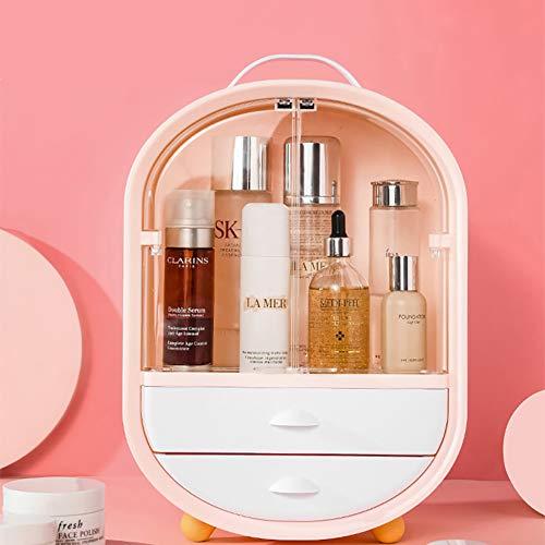 LYzpf Make-up Organisator Laden Display Stand Box Neatness Draagbare Cosmetische Organisatoren Opslag Plank Tassen voor Dressoir Slaapkamer Badkamer