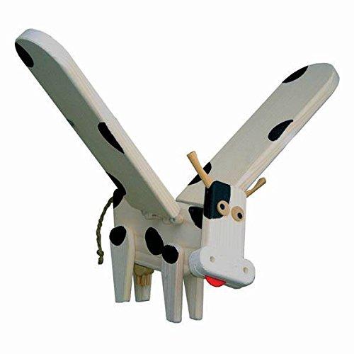 Van Dijk Toys Vlieg- / zweeffiguur - Koe