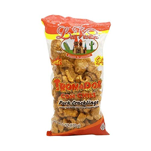 La Visita Tronador Con Chile 2 Today's only Pack Cracklings Pork 55% OFF