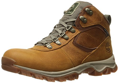 Timberland Men's Mt. Maddsen Mid Leather Wp, light brown full grain, 9.5 Wide US