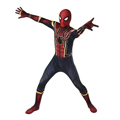 Cosplay Superheld Spiderman Nauw Bodysuit Pak Anime Kleding Filmrollenspellen kostuums SPIDERSYBB Adult-M(150-160) zwart-rood