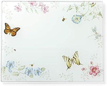 Lenox Butterfly Meadow Large Glass Cutting Board