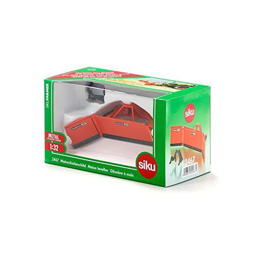 RC Auto kaufen  Bild 5: SIKU 2467, Maisschiebeschild, 1:32, Metall, Orange, Ideale Ergänzung zu SIKU Traktoren im gleichen Maßstab*