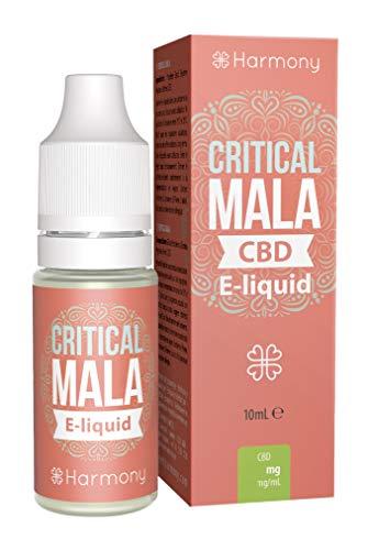 Harmony E-líquido de CBD (más de 99% pureza) - Terpenos de Critical Mala - 100...
