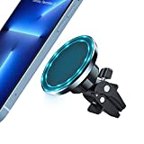 Magnetic Car Mount Holder - Magnet Air Vent Phone Mount Compatible with-MagSafe Case/iPhone 13 12 Pro Max Mini, 360° Adjustable Cell Phone Car Holder Mount for iPhone 13&12 Series