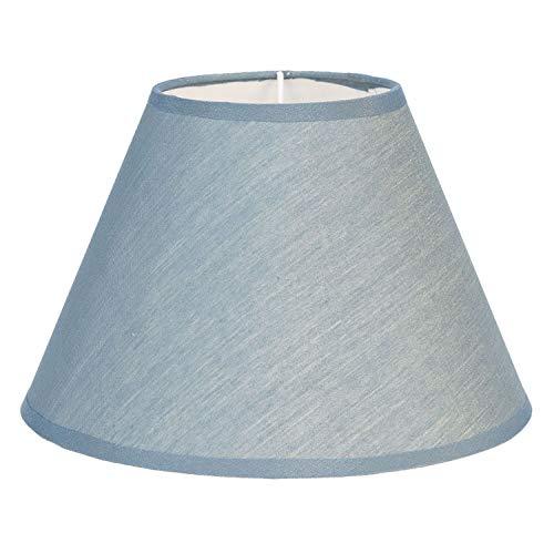 Clayre & Eef 6LAK0469BL lampenkap ca. Ø 19 x 12 cm