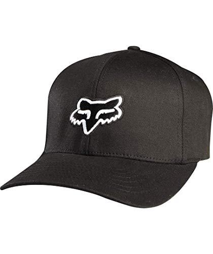 Fox - Gorra para Hombre, Color Negro