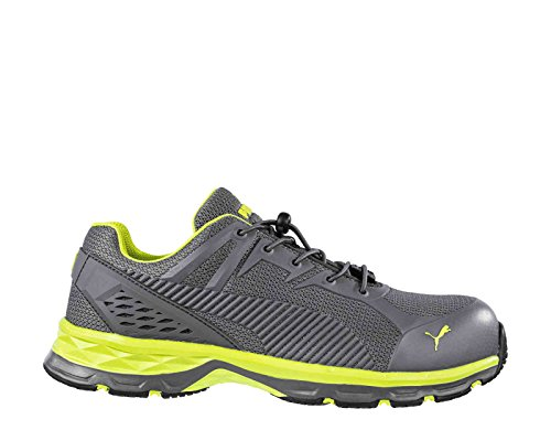 Puma SAFETY 643880 FUSE MOTION 2.0 GREEN LOW S1P - Zapatos de seguridad para hombre 41 gris/verde