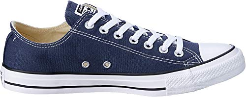 Converse Chuck Taylor All Star Ox, Zapatillas Unisex Adulto, Azul (Navy), 43 EU
