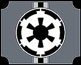 Unbekannt magFlags Tisch-Fahne/Tisch-Flagge: Galactic Empire SWG | Galactic Empire Star Wars 15x25cm inkl. Tisch-Ständer