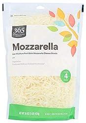 365 Everyday Value, Mozzarella Cheese, Shredded, 16 oz