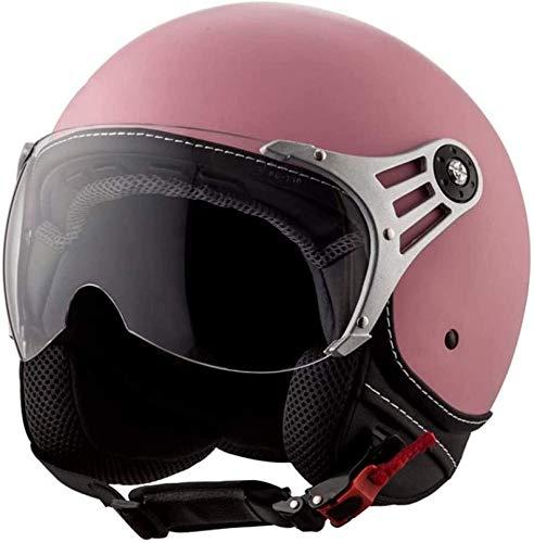 QDY Retro Jet Helmet Motorbike Crash Helmet Vintage Jet Motorcycle Helmet with Sun Visor Motorbike Vespa Jet Helmet Scooter Motorbike Helmet DOT/ECE Approved Half Helmet for Adults G,S California