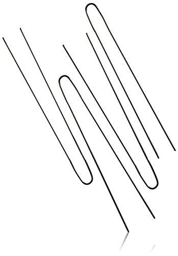 Ari 1719/ 30 Postichnadeln glatt schwarz, 65 mm, 45 Stück, 2er Pack, (2x 45 Stück)