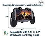 Jicson H5 Mobile Game Controller Gamepad with Cooling Fan Android/iOS (Black)