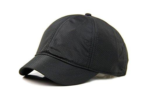 WY-scarf Hüte Schirme Kurze Reiten Abzugshauben Casual Men\'s Baseball Caps, Dunkelblau - schnelles Trocknen