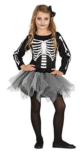 FIESTAS GUIRCA Disfraz de Esqueleto con tutú Infantil.
