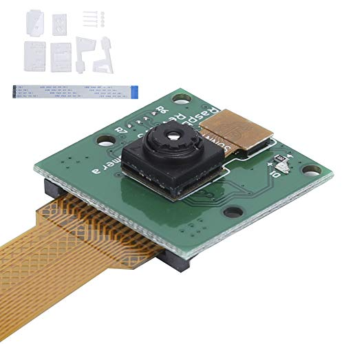 Annadue Camera Module + Mounting Bracket + Cable, Camera Kit for Raspberry Pi 3, PCB Material, 1.5 Million Pixel Mini Camera