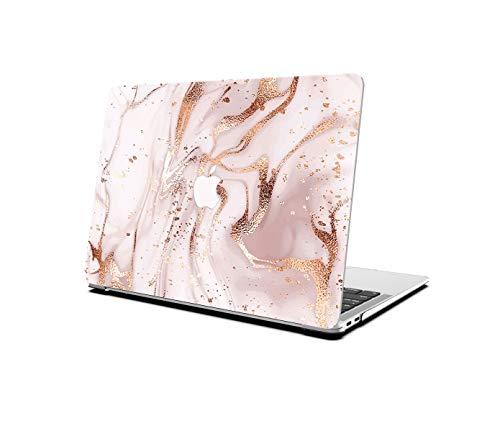 AOGGY – Carcasa rígida para MacBook Air de 13 pulgadas, modelo A1369/A1466 – Diseño colorido de plástico para MacBook Air de 13,3 pulgadas (2010-2017), color oro rosa