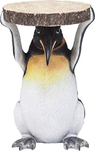 Kare tavolino Animal Penguin, Ø33cm, 52x35x35cm