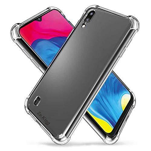 Capinha Silicone Transparente Antichoque Samsung Galaxy M10