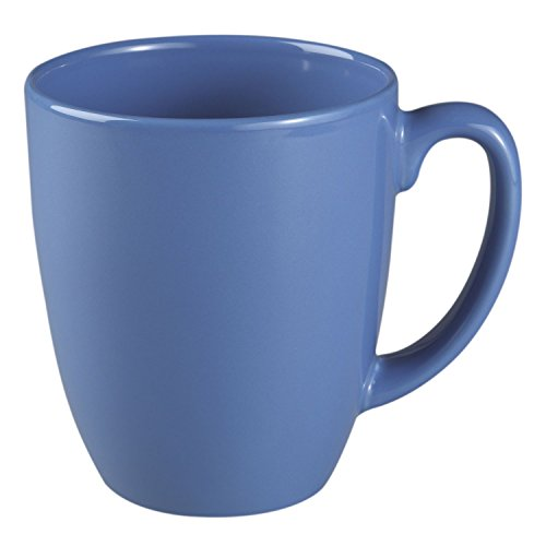 Corelle Livingware 11-Oz Dark Blue Stoneware Mug (Set of 4)