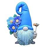 Reooly Gartenstatuen Deko Handarbeit Tiere Gartenfigur, Schwarzer Rabe Figur Skulptur,Elf Gartendeko Outdoor Garten Hinterhof Rasen Pfä Hle Yard Dekor, Polyresin Art Dekoration