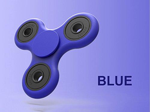 Fidget Dedo Mano Spinner Juguete - Azul
