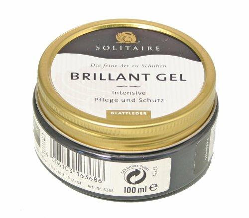 Solitaire Brillant Gel, 100 ml, schwarz