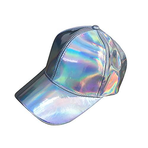 sombreroGorra de Beisbol Gorra Snapback para Gorra de Sombrero Que Cambia de Color arcoíris Back to The Future Gorra de béisbol Blanca