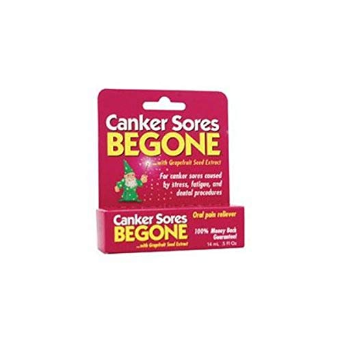 Cold Sores Be Gone Canker Sores Begone 015 Ounce