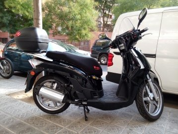 Funda Cubre Asiento Scooter o Moto Kymco People S 50/125cc (Ref Neos)