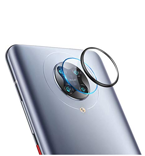 FanTings Protetor de metal para Xiaomi Mi 10T Pro, Xiaomi Mi 10T Pro, protetor de lente de câmera protetor de pantalla de vidrio templado para Xiaomi Mi 10T Pro (pacote com 2)
