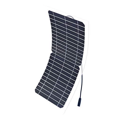 JAYLONG 10W Flexibles Solar Panel, 12V-Sicherheits-Solarladegeräte, 17,3 * 7.5 In Geeignet Für Dächer, Outdoor Und Autos