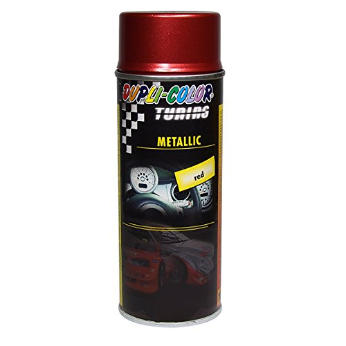 Dupli-Color 191923 Tuning Metallic Lackspray, 400 ml, Metallic Rot