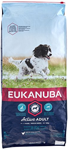 EUKANUBA Hund Adult Medium Breed Huhn 12 kg