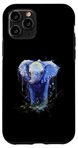 iPhone 11 Pro Elephant Artwork - Big Mammal Elephant Artwork Gift Case