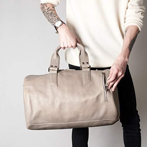 Capra Leather Duffle Bag