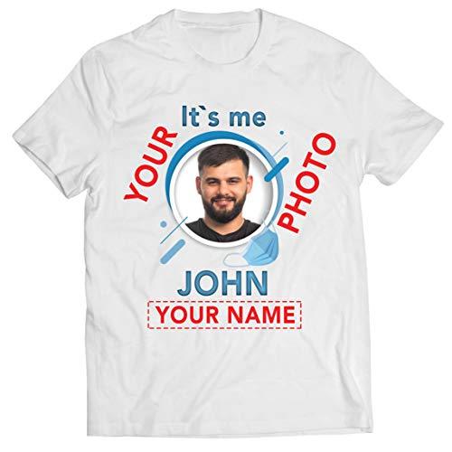 Lepni.me - Camiseta para hombre, diseo con texto en alemn Blanco, multicolor. XXXL