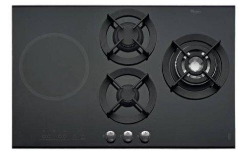 Whirlpool AKT 477/IX Integrado Combi Negro hobs - Placa (Integrado, Combi, Vidrio, Negro, Vidrio, Derecho)