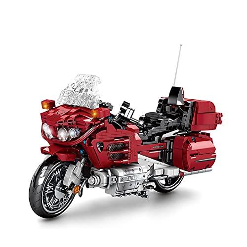 Boutique Lego 1025Pcs City Sports Motocicleta Rompecabezas Tecnología Bloque Construcción Modelo Colección Regalo Coche De Juguete