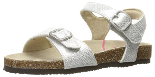 Stride Rite Women's Zuly, Silver, 9.5 M US Toddler