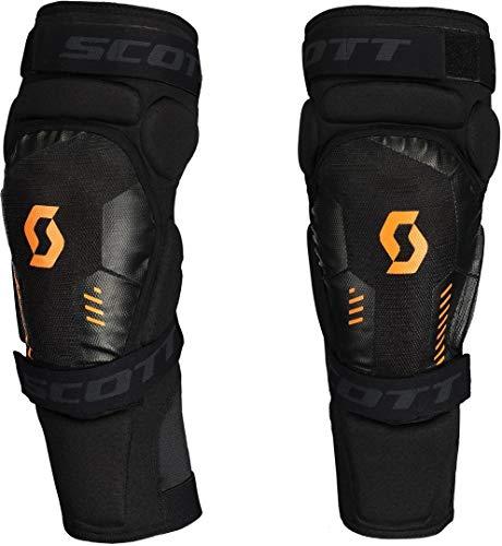 Scott Softcon 2 MX Motocross DH Knieprotektoren schwarz/orange 2020: Größe: S