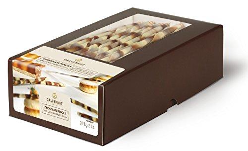 Callebaut Van Gogh Marmorizzato - Bastoncini di Cioccolato Bianco e Fondente (200mm) 900g.