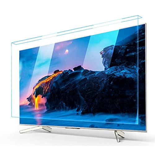 JHZDX Anti-Blaulicht-Bildschirmfilter, TV-Displayschutz, Anti-Schäden-Panel, Kinderaugenschutz, High-Definition-Filter, einfach zu installieren, 50 Zoll (1120 × 650)