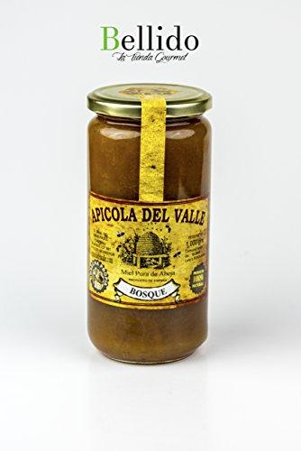Miel 100 % natural pura de abeja cosecha propia artesanal Apicola del Valle, diferentes sabores muy intensos. Envío GRATIS 24 h. (Bosque, 1 Kg)