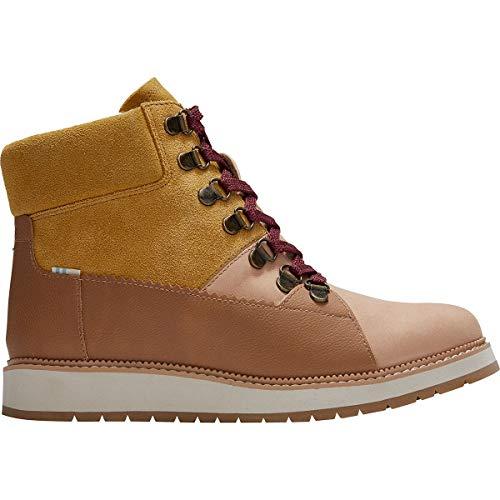 TOMS - Womens Mesa Boots, Size: 7.5 B(M) US, Color: Wp Honey Nubuck/Suede