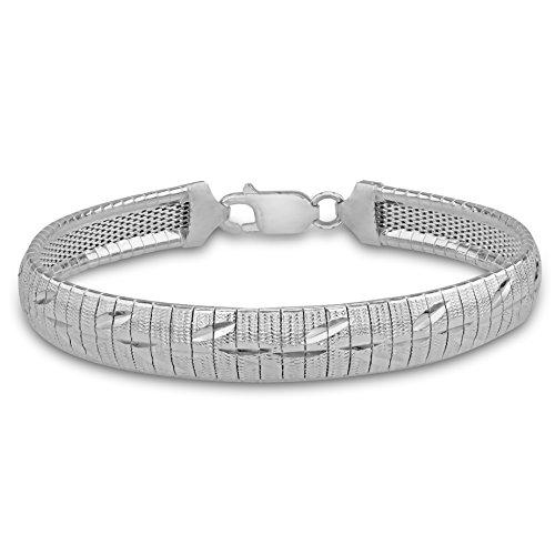 Tuscany Silver – Pulsera de plata 925 – 19 cm – 8.29.7032